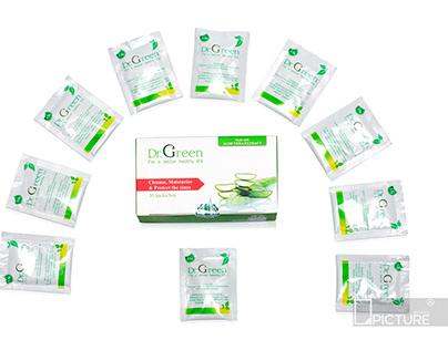 Chụp ảnh sản phẩm thuốc Dr Green