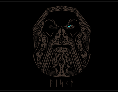 Handmade Viking Shirt Design