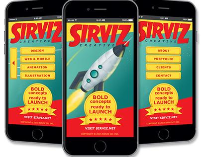 Sirviz Mobile Web/App