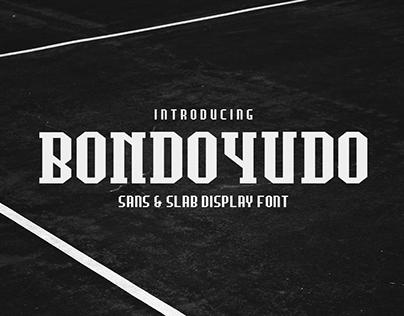 Bondoyudo Pro Display Font