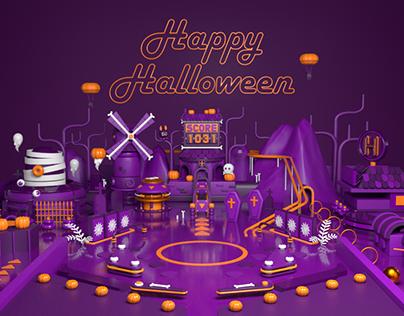 halloween pinball
