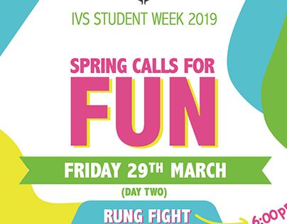 IVS Students Week Posters