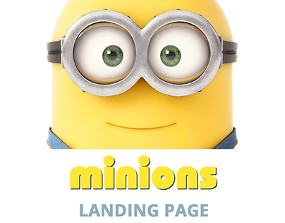 Minions! Landing Page
