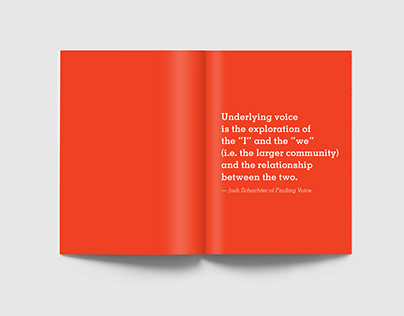 Designing Voice