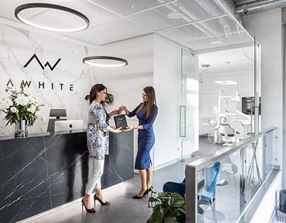 A WHITE- Full Brand Identity
