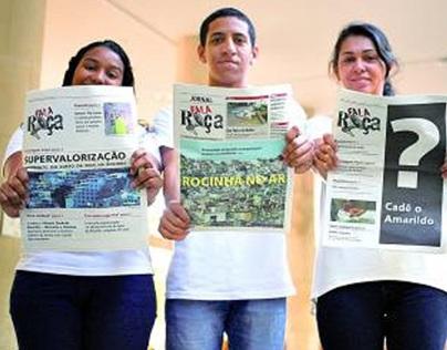 Jornais Comunitários no Rio