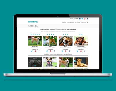 El Mascotero - Web Design