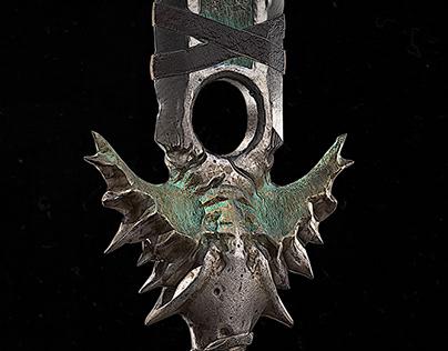 Barbarian Sword (Diablo IV fan art)