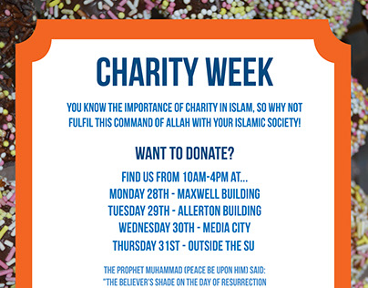 Lollypops - Charity Week Poster