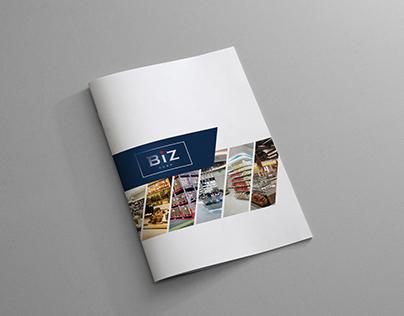 Biz Group - Catalogue Design