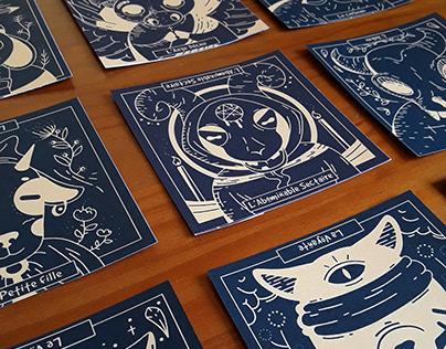 Les Loups-garous de Thiercelieux - Card game redesign