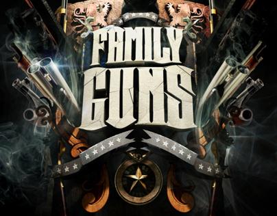 NatGEO - Family Guns Promo Graphics