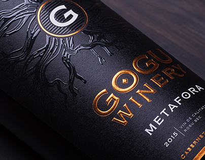 Metafora - label design for Gogu Winery