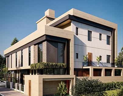 Modern Villa Designed by Ahmet Abdurrahman