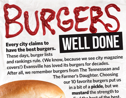 """Evansville City View 2013 Feature – """"Burgers Well Done"""""""