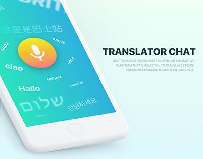 Translator chat