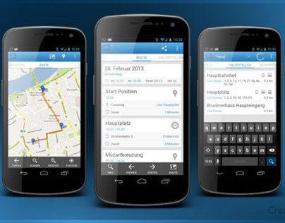 Lilli – Linzer Linien – Öffis Android App Design