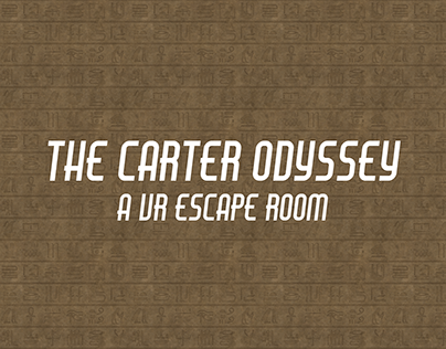 The Carter Odyssey - VR Educational Escape Room