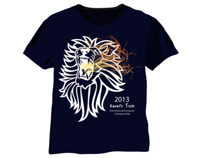 Karate Tech T-Shirt Designs