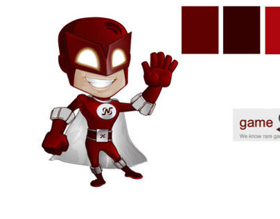 Game N Trade Super Hero Mascot
