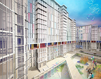 Art cluster housing block | Жилой комплекс `Арт-кластер