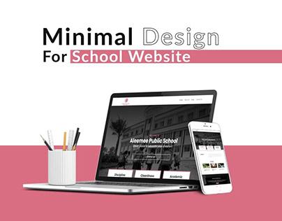 Website Design & Developed For Aleemee School