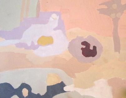 gouache color studies, 2012