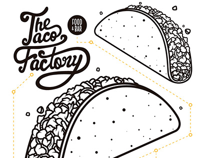 The Taco Factory Flyers