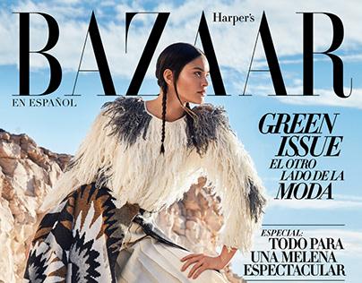 Elizabeth Salt for HARPER'S BAZAAR Mexico