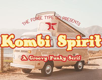 Kombi Spirit - A Groovy Funky Serif