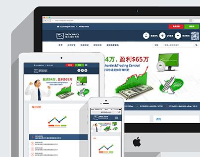 GKFX Daily Branding / Logo / Web / App