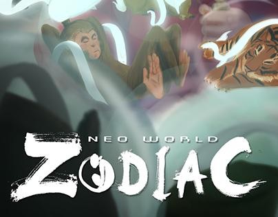 Neo Wold Zodiac Logo Design