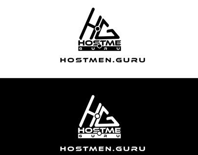 Hostme.Guru Logo Design for Branding .