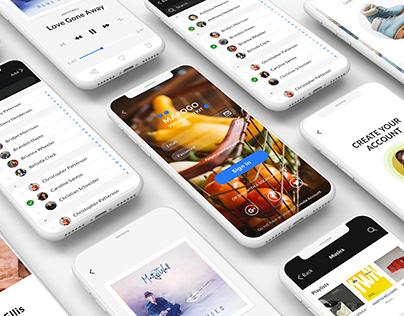Mapogo UI kit - iOS platform