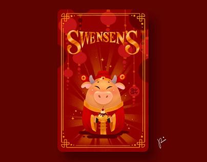 Swensen's card