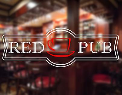 "Логотип ресторана ""Red Cup Pub"""