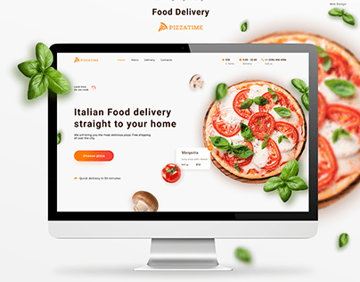 Italian Food Delivery_Pizza_landing page