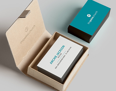 The Point Church: Business Cards
