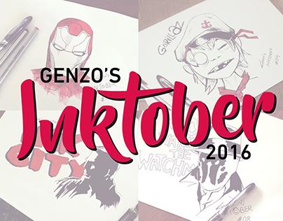 Genzo's INKTOBER 2016
