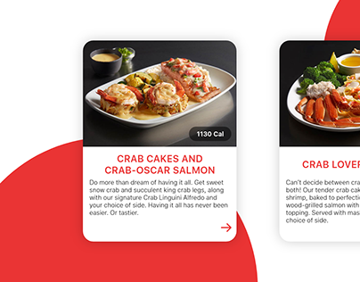 Food Info Cards