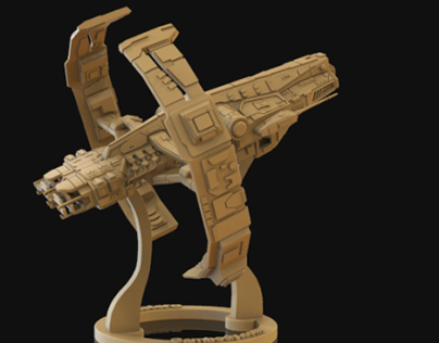Astero Model for 3D Printing