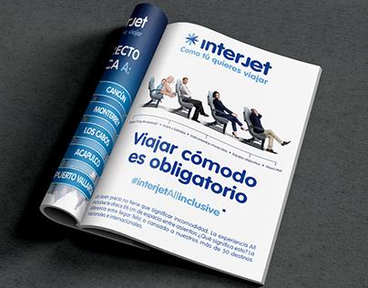 Interjet All inclusive Campaign & Ads