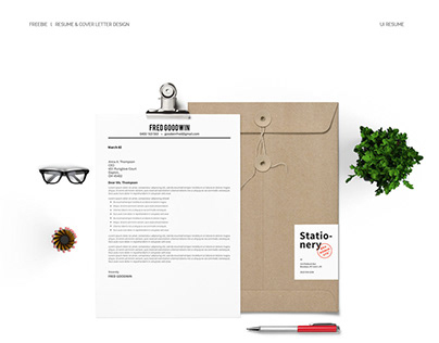 Freebie l Resume & Cover Letter Design