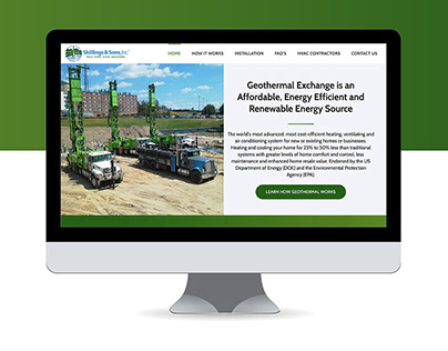 Geothermal Website Design