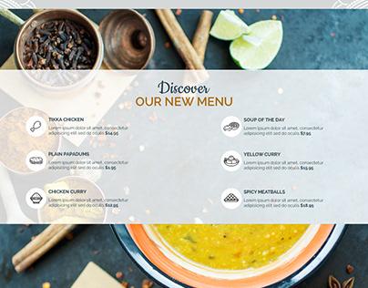 professional website for restaurant