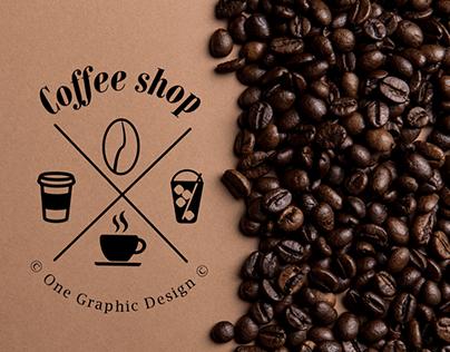 ''Coffee shop'' logo presentation (for sale)
