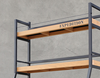 Bookcase -EXPEDITION