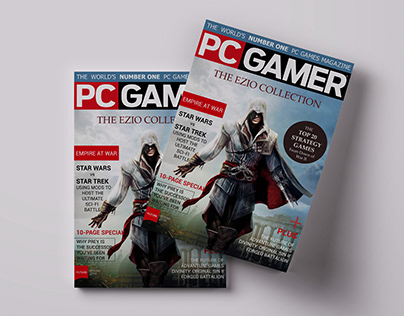 PC GAMER* Magazine Cover