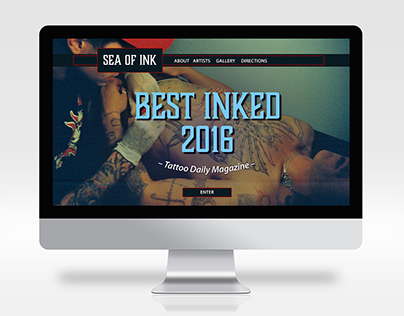 Sea of Ink Tattoo Website