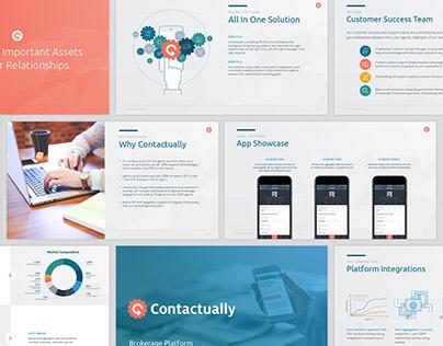 Contactually - graphic design